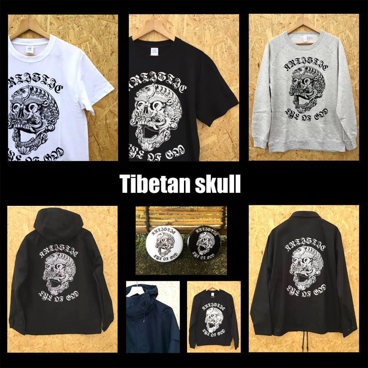 Shingangeijyutsu new art 『Tibetan skull』launch party! - 2018.09.30(SUN) at 代官山 Débris