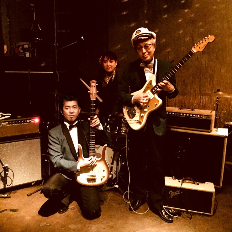 Jackie & The Cedrics - 限定7インチ・シングル『Battle Of Black Sand Beach / Paraiso Del Surf』Release