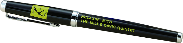 全巻予約特典:マイルス・デイヴィス公認オフィシャル「リラクシン万年筆」