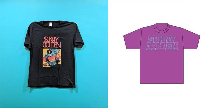 """SUNNY GOLDEN"" オフィシャルTシャツ 販売情報"