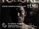『YOSUKE YUKIMATSU -OPEN TO LAST-』2018.11.16 (FRI) at CIRCUS OSAKA