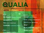 『QUALIA feat. DJ DUSTIN』2018年12月4日(火)at 渋谷 Contact