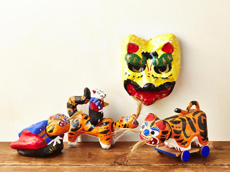 「中村さんの郷土玩具」高松張り子2,538円など<いずれも現品限り>