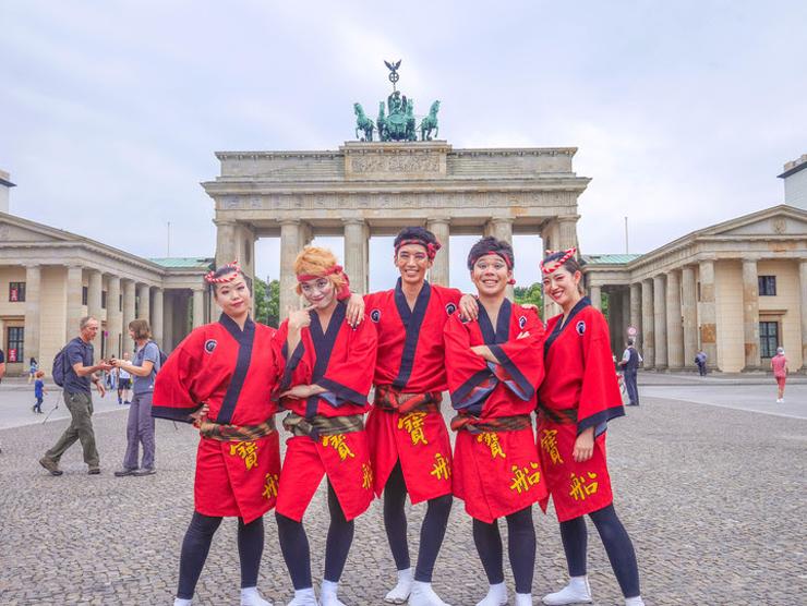 『寶船 ドイツ単独公演』2019年1月25日(金)  at 在ドイツ日本国大使館 多目的ホール