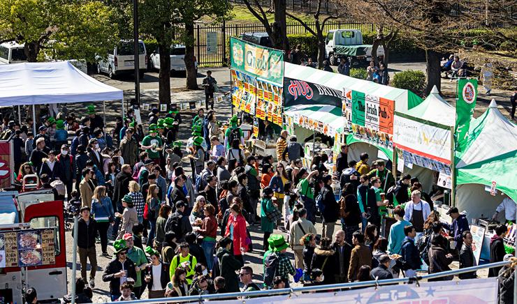 『アイラブアイルランド・フェスティバル2019』2019年3月16日(土)17日(日)at 代々木公園B地区イベント広場