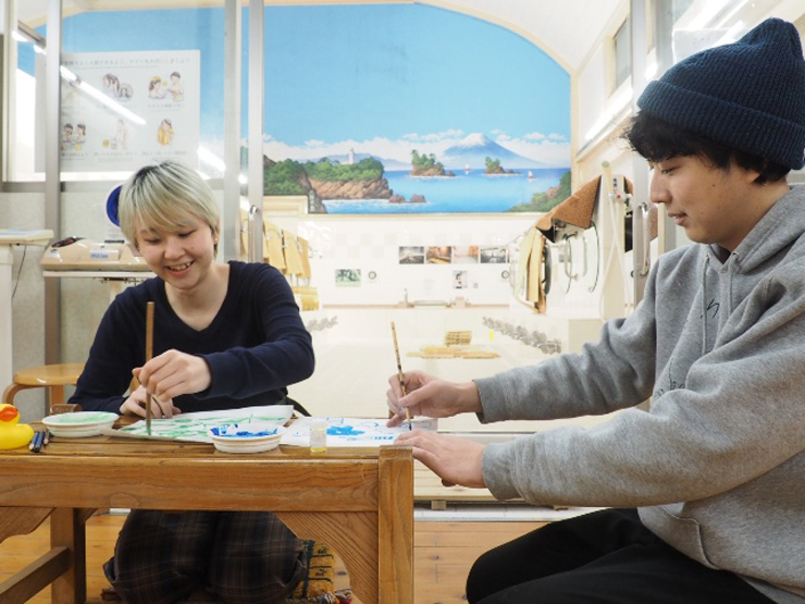 銭湯×アートイベント『HANAMI CHILL ART』2019年3月28日(木)at 小杉湯(東京都杉並区高円寺北3丁目32-2)