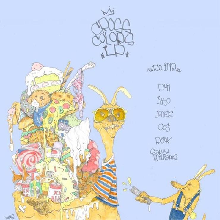 1Co.INR - New LP『CROSS COLORS LP』Release