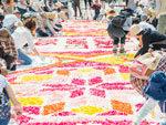 フラワーアート『インフィオラータ』& ワークショップ – 2019年4月27日(土)at 新所沢PARCO 1F・ガレリア