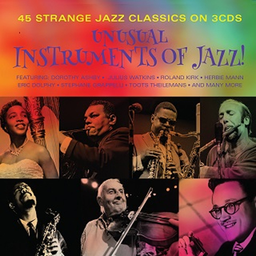 V.A.『UNUSUAL INSTRUMENTS of JAZZ !!』Release
