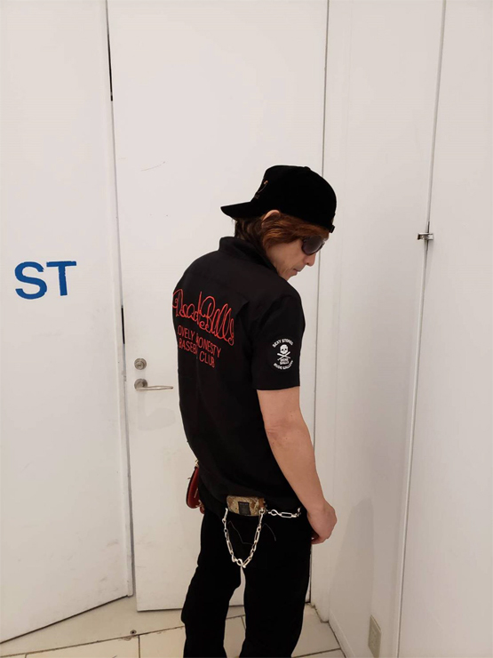 SEXY STONES RECORDS x RUDE GALLERY コラボレーションアイテム第四弾(BOWLING SHIRT)