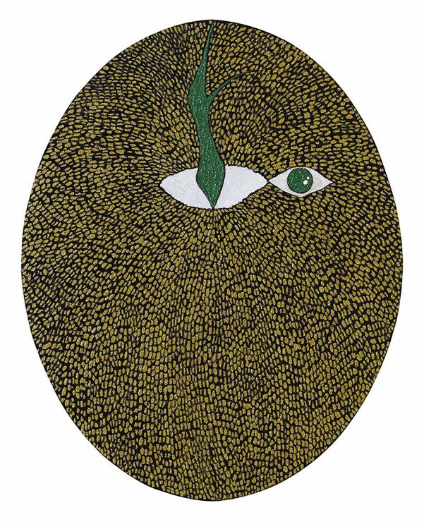 参加作家バン・ウンキョンの作品《The eye of an apple(りんごの目)》