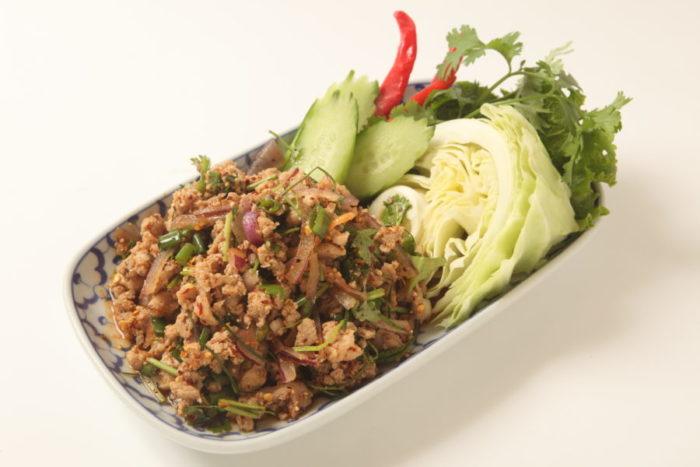 ラープ(ひき肉サラダ)