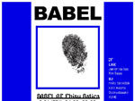 『BABEL』2019年6月21日(金) at Ebisu Batica
