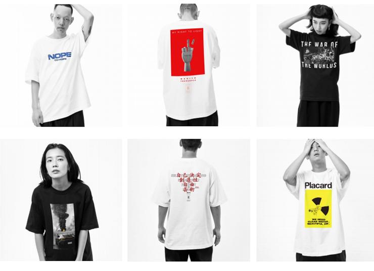 """今年秋に開催予定の「THE M/ALL 2019」の""""100 VOTE T-Shirts PROJECT""""とのコラボ企画も実施"""