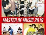 LOW IQ 01 恒例企画 『MASTER OF MUSIC 2019』12月13日(金) 渋谷 TSUTAYA O-EASTで開催。TGMXとの共同企画「years and years 2019」の開催も発表。