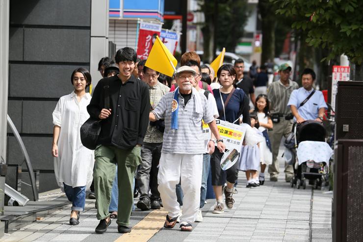 《よみちにひはくれない》浦和バージョン、 「世界ゴールド祭 2018」より  提供:(公財)埼玉県芸術文化振興財団