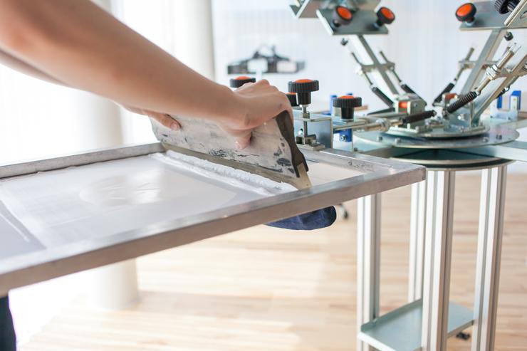 4F:印刷工房・アトリエ