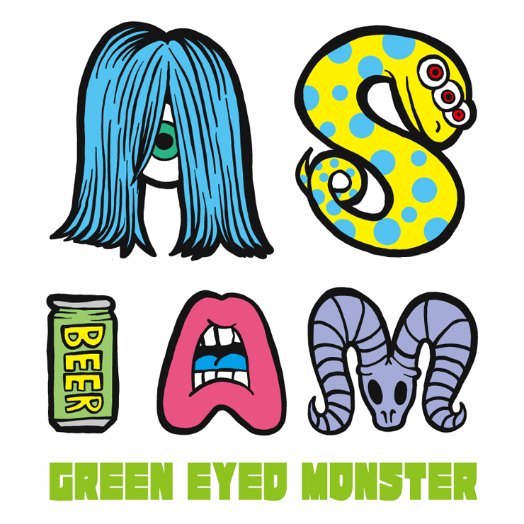 GREEN EYED MONSTER - New Single『AS I AM』Release