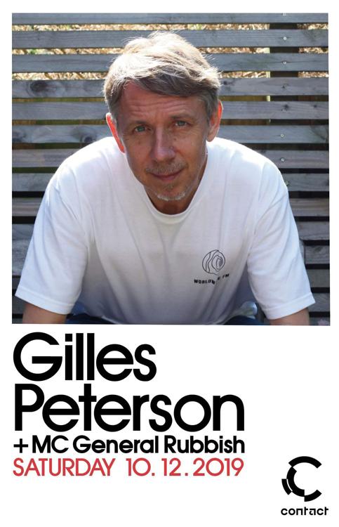 『Gilles Peterson at Contact』2019年10月12日(土)at 渋谷 Contact