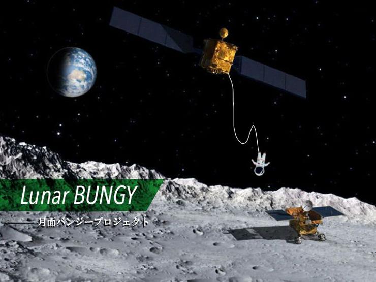 宇宙VR「Lunar BUNGY(月面バンジー)」 / omoracy × Yspace