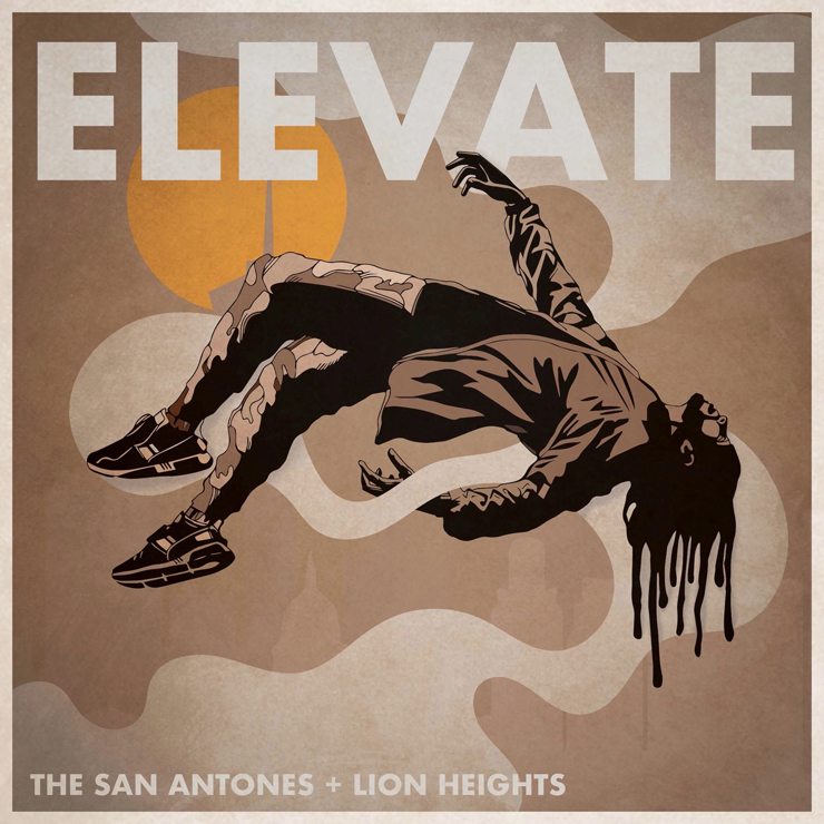 THE SAN ANTONES + LION HEIGHTS - New Single『ELEVATE』Release
