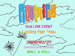 Roomies – 2nd LIVE『Lucky for You』2020年2月27日(木) at 表参道 WALL&WALL
