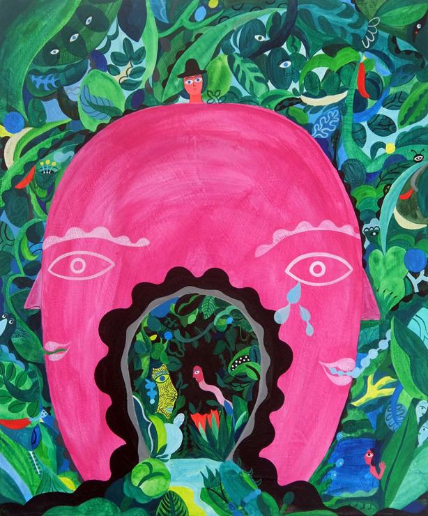 GINZA ART EXHIBITION 岡田杏里 個展「El yo y el Yo」