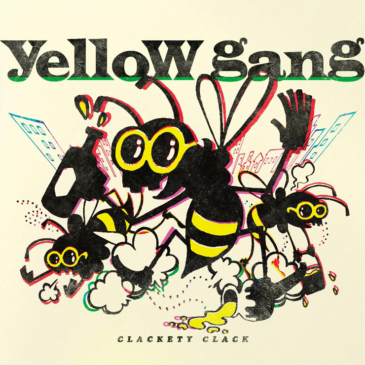 yellow gang - New Mini Album『CLACKETY CLACK』Release