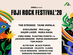 【開催延期】FUJI ROCK FESTIVAL '20 ~出演アーティスト第1弾~