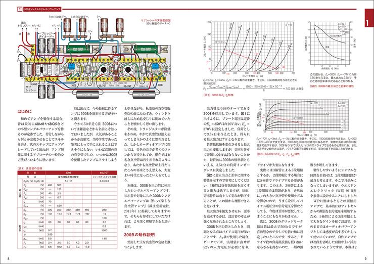 自作で楽しむ Hi-Fiオーディオ カラー実体配線図で作る真空管アンプ2