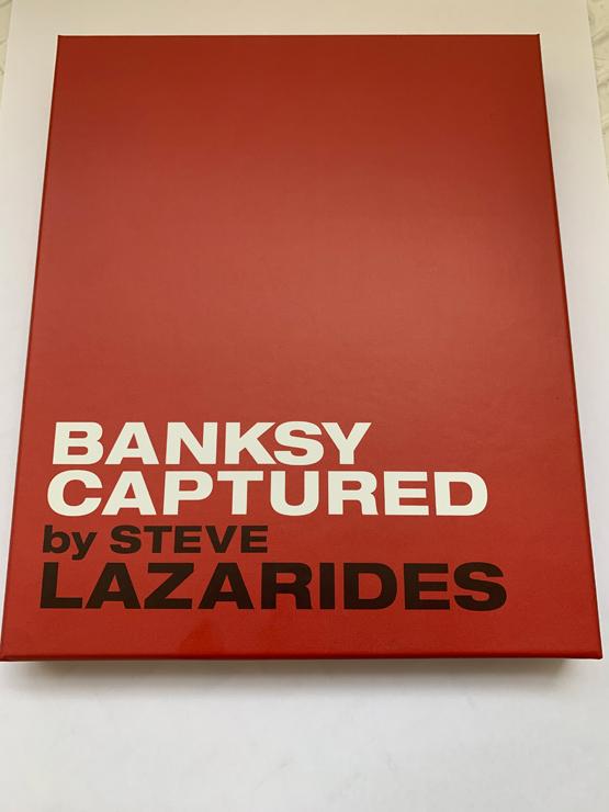 書籍『BANKSY CAPTURED by STEVE LAZARIDES』先行予約販売(2020年4月13日~2020年5月6日まで)