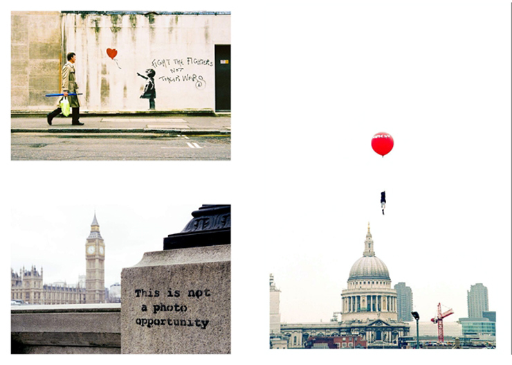 BANKSY CAPTURED by STEVE LAZARIDES