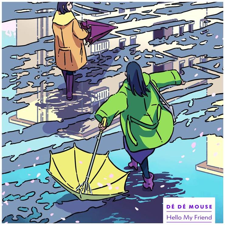 DÉ DÉ MOUSE - デジタルEP『Hello My Friend』リリース&無観客生配信LIVE決定