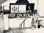 V.A. – SHIBUYA CYCLONE / GARRETE ドネーション・コンピ『KEEP ON ROLLIN' TRACKS』Release