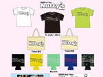 Live & BAR Nutty's – オリジナルグッズ(Tシャツ、トートバッグ、ステッカー、クージー)& ドリンクチケット予約販売