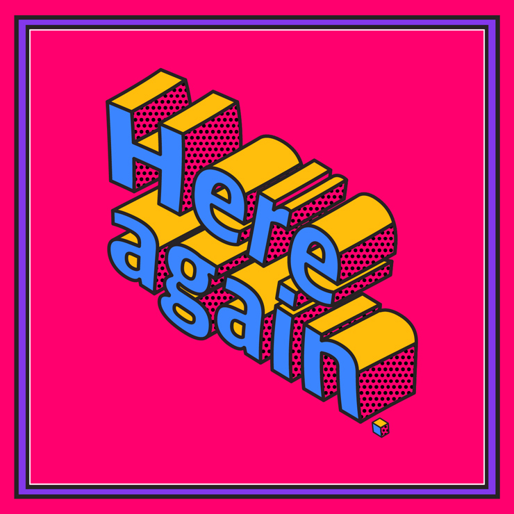 FRONTIER BACKYARD - New Single『Here again』Release