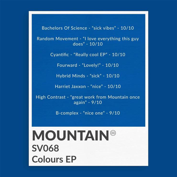 SV068: Mountain_jp - Colours EP