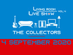 THE COLLECTORS – 有料配信「LIVING ROOM LIVE SHOW~streaming special edition Vol.4~」2020年9月4日(金)21時~