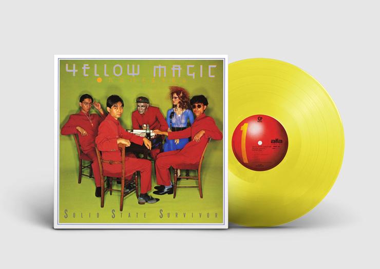 イエロー・マジック・オーケストラ(YMO)- アナログ再発限定盤『ソリッド・ステイト・サヴァイヴァー』Release