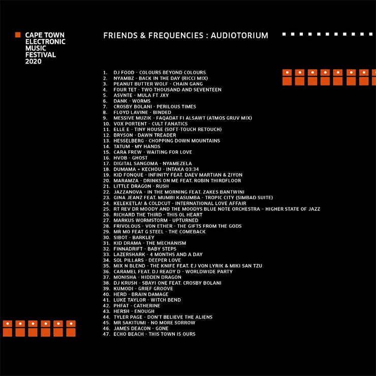 V.A. - コンピレーション『CTEMF 2020 : Friends & Frequencies』Release