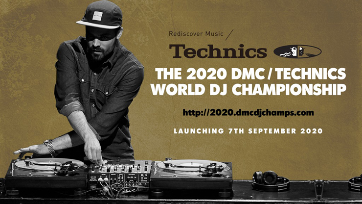 『DMC WORLD DJ CHAMPIONSHIP 2020  supported by Technics』大会スケジュール発表、全世界オンラインで開催。