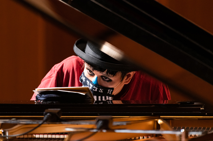 H ZETTM「ピアノ独演会 2020 九月 逗子の陣」Photo by Yuta Ito