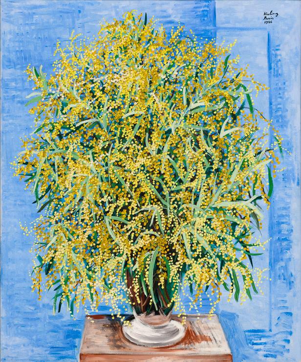 《ミモザの花束》1946年 パリ市立近代美術館 Photographie (C) Musee d'Art Moderne / Roger Viollet