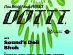 『Dottt.』2020年11月2日 (月) at 渋谷 SOUND MUSEUM VISION