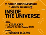 『INSIDE THE UNIVERSE』2020年10月30日(金)at 渋谷 SOUND MUSEUM VISION