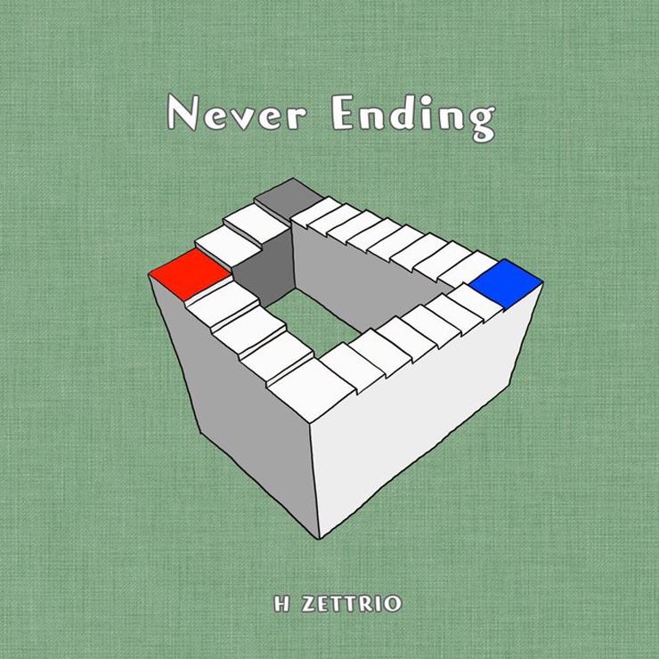 H ZETTRIO (24ヶ月連続配信シングル第22弾)『Never Ending』