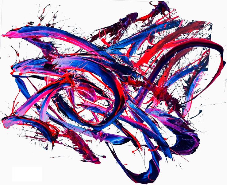 「タイトル未定」 2020年 アクリル絵具、 紫外線吸収材、 合板 173 x 279 cm