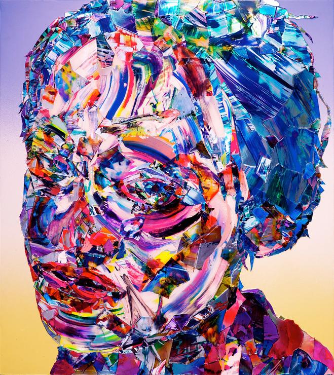 「ROOTS OF TEARS」 2011年 ミクストメディア 137 x 122 cm