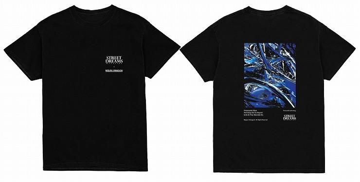 MEGURU YAMAGUCHI×STREET DREAMS MAGAZINE T-Shirt Black / Size  M L XL XXL