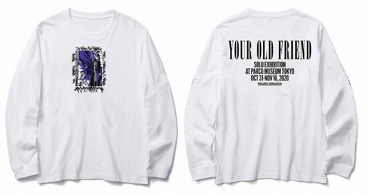 MEGURU YAMAGUCHI EXHIBITION LIMITED Long T-Shirt White /Size M L XL XXL
